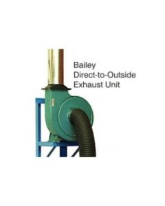 Direct to Outside Exhaust Unit for Soldner Dust Hoods