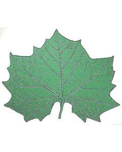 C-058-FL10 Clay Art Sycamore Leaf Press Mold Mat