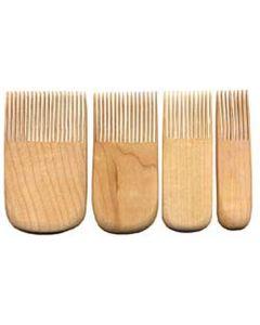 Bailey Wood Comb 4 Piece Set