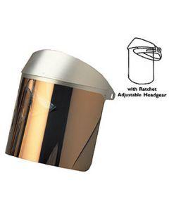 Didymium II Heat Reflective Face Shield