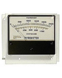 "Analog Pyrometer w/12"" Thermocouple"