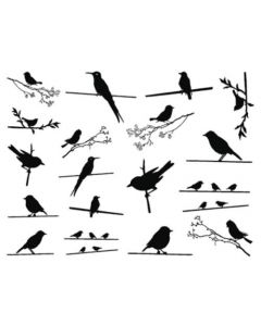Birds on the Wire Decal