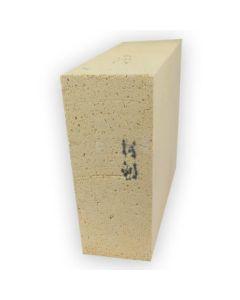 "2.64 Arch Brick (2300 F): 9"" x 6.75"" x 3"" to 2.64"""