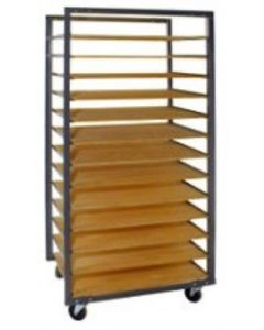 13 Division Ware Rack: Bolt-On Rungs