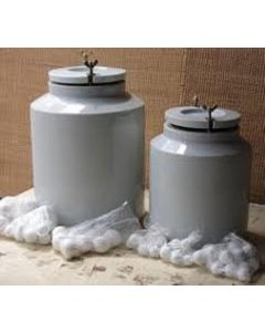 1 Liter Ball Mill Jar + Porcelain Balls