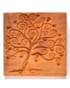Square Stamp Large Tree of Love SSL-66
