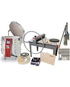 handbuilding, handbuilding and clay equipment, electric kiln, extruder, beginner kit