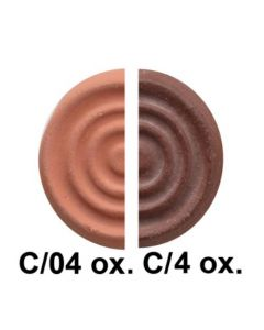 #104 Red Earthenware Clay W/Grog C/06-4