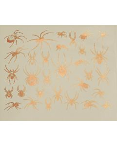 Spider Decal Copper