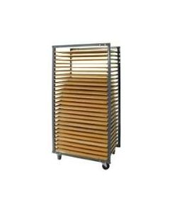 26 Division Ware Rack: Bolt-On Rungs