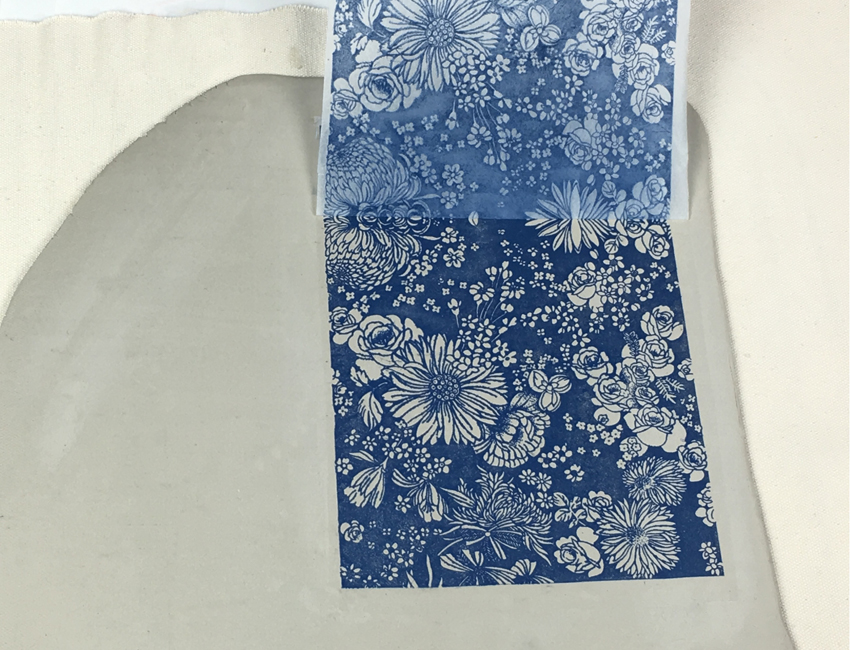 New! Underglaze Transfers, Part 1: How to Apply Underglaze Transfers to the Clay Surface