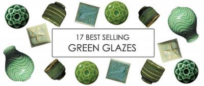 17 Best Selling Green Glazes