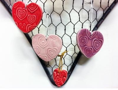 Project: Personalize a Valentine, Plus 14 Red and Pink Glaze Picks!