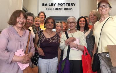 Hudson River Potters Visit Bailey Pottery