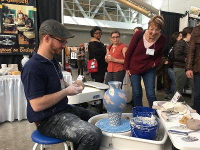 NCECA 2018 Highlights from Bailey Pottery