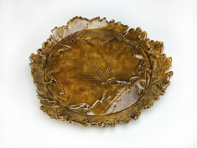 Harvest Leaf Platter