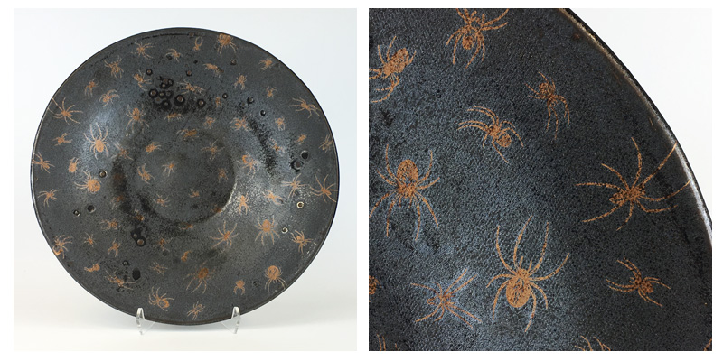 Creepy Crawly Spider Platter for all your Halloween Treats!