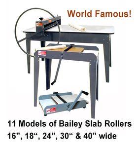 Bailey Slab Rollers
